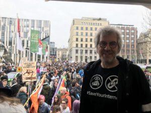 Frank Herrmann, Vorsitzender der Piraten-Partei NRW; Foto: Peter Ansmann