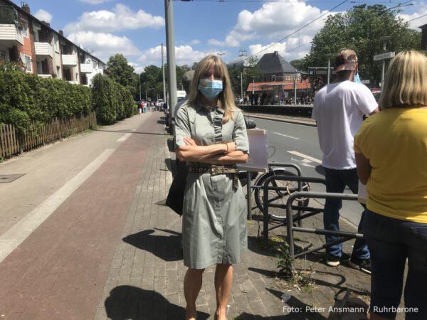 Susanne Cichos, Kandidatin der FDP für das Amt des Obermürgermeisters in Gelsenkirchen