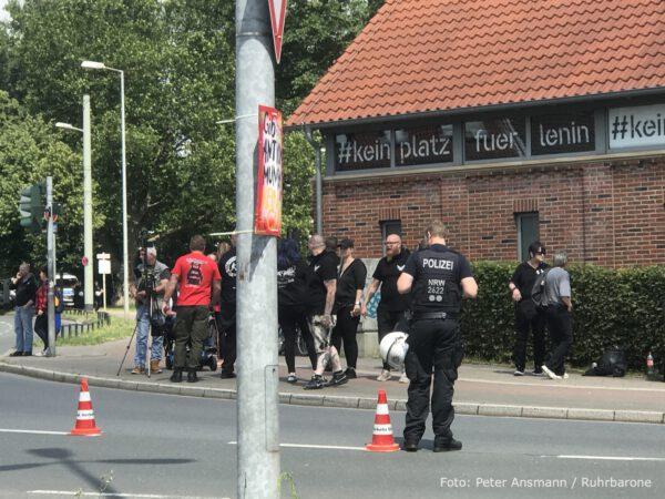 Protestkundgebung, Naziumfeld