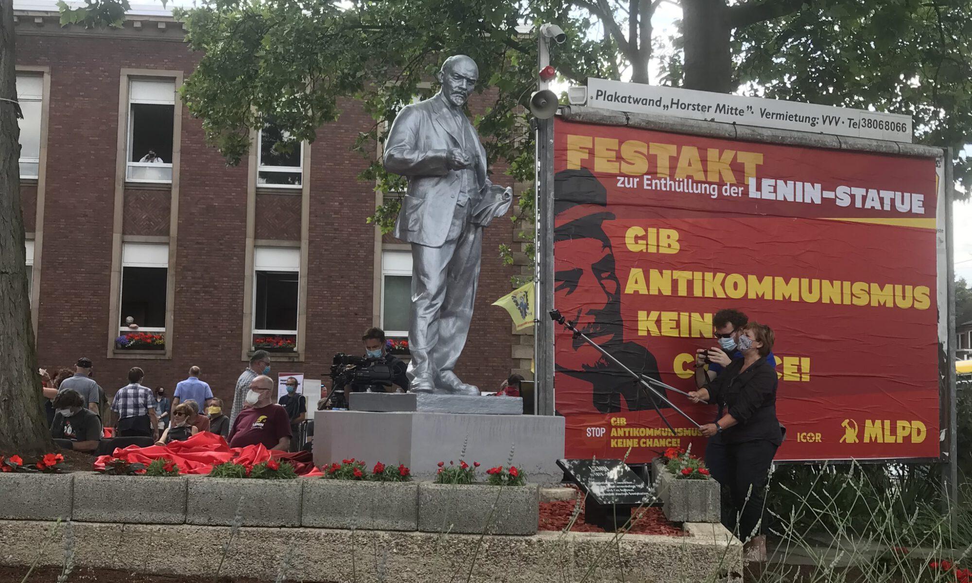 Lenin-Statue in Gelsenkirchen-Horst